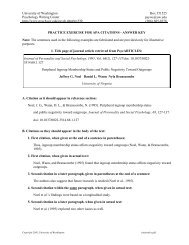 Aw 1 Apa Citation Exercise Answer Key Part 1 References List