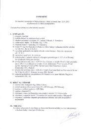 Zasedání se konalo dne 22. září 2011 - Klecany
