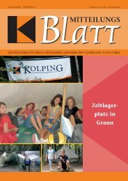 24. November 2007 - Kolpingwerk Südtirol
