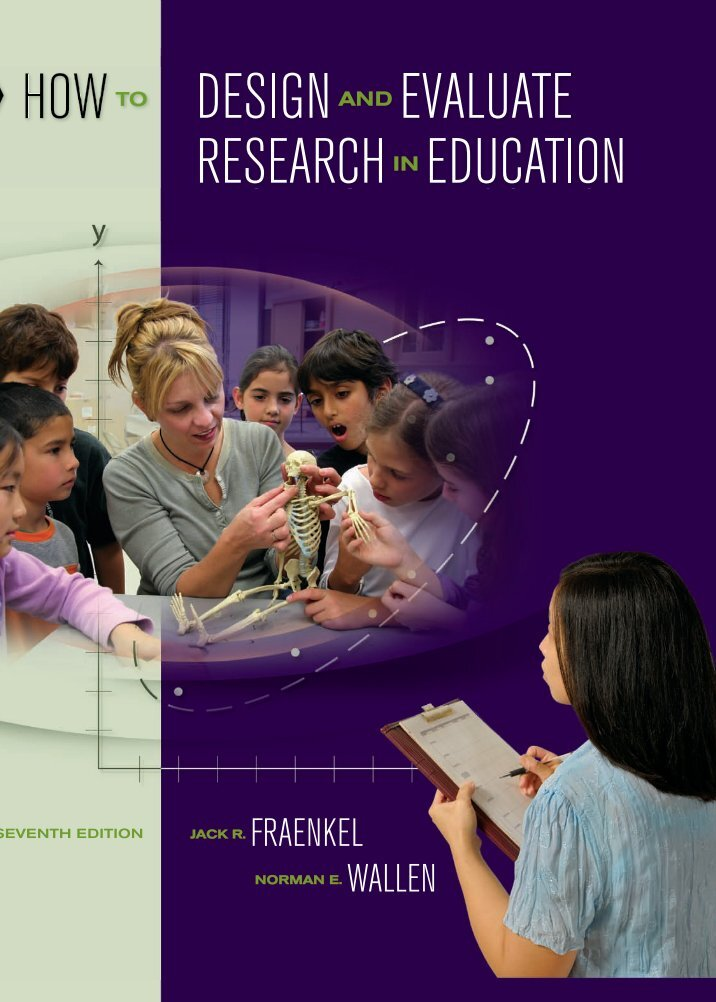 how to design and evaluate research in education Buy how to design and evaluate research in education online now for a discounted price or rent it instead if you'd prefer to design language romance textbooks.
