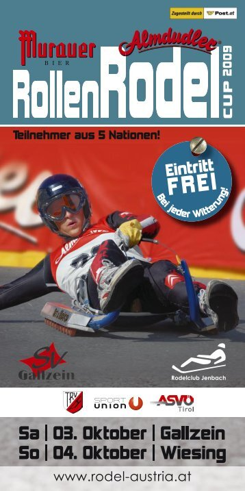 Plakat - Flugsportzentrum Tirol