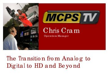 Chris Cram Presentation - NATOA