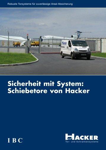 Schiebetore von Hacker
