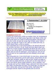 Evangelium Lk 4,1-13: In jener Zeit verließ Jesus, erfüllt vom ...