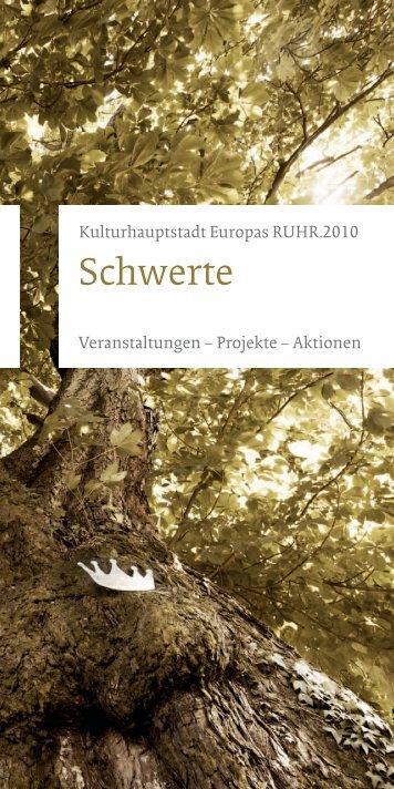 Veranstaltungskatalog Schwerte 2010 - Kulturkreis Unna