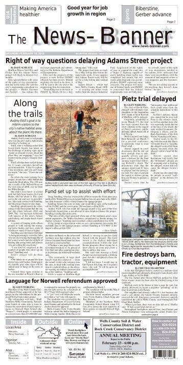 IU, IU Health blow their horns - Bluffton News Banner