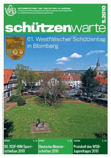 5 .2010 - Schützenwarte - WSB