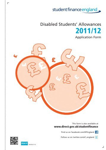 Disabled Students' Allowances 2011/12 Application Form ... - Laban