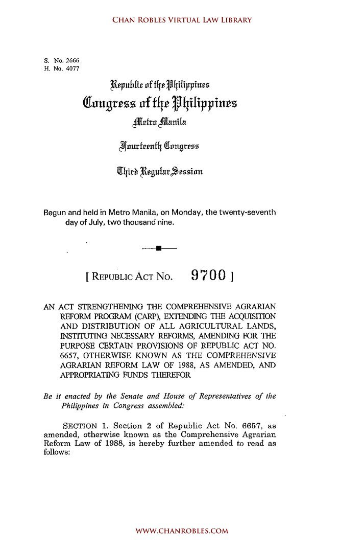 republic act no 9147 Of 2000 republic act no 9147 - wildlife resources conservation and protection act republic act no 9275 - clean water act republic act no 9512 - environmental awareness act republic act no 9514.