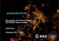 Extending Atmel IDS flow - ESA