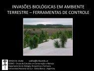 Invasões biológicas em ambiente terrestre – ferramentas ... - SIGAM