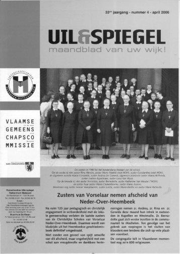 maandblad van U\N \Nij k! - Heembeek-Mutsaard-Ingezoomd.be