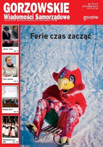 GWS nr 01 / 2013 - Gorzów