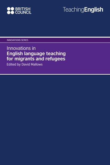 Innovations in English language teaching for ... - EnglishAgenda