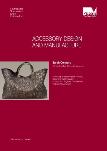 AccessORy DesIGn AnD MAnufActuRe - International Specialised ...