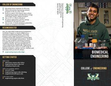 Biomedical Engineering - College of Engineering