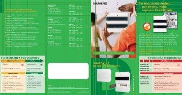 Quadro de disjuntor Simbox - Elétrica Zata
