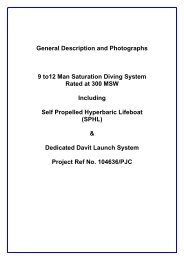 to download the PDF datasheet for this saturation diving system