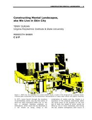 Constructing Mental Landscapes - School of Architecture + Design