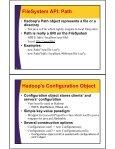 HDFS - Java API - Custom Training Courses - Coreservlets.com - Page 5