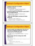 HDFS - Java API - Custom Training Courses - Coreservlets.com - Page 6