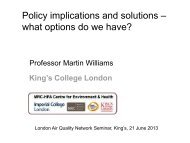 Policy implications and solutions – what options do we have?
