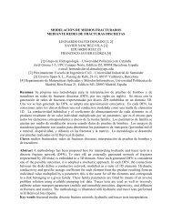 MODELACIÓN DE MEDIOS FRACTURADOS - UPC