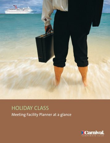 CCPP09977 Holiday Planner - Carnival Cruise Lines