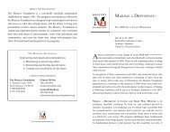 MAKING A DIFFERENCE: - Mastery Foundation