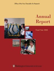 Annual Report - Office of the Vice Chancellor for Research