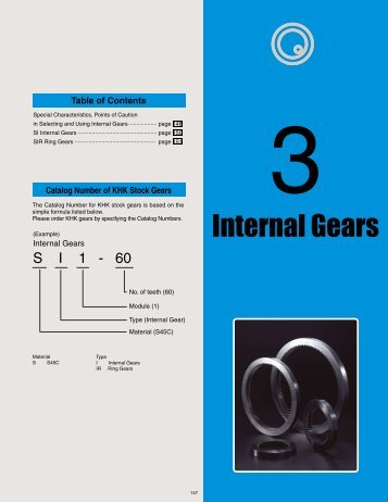 Internal Gears