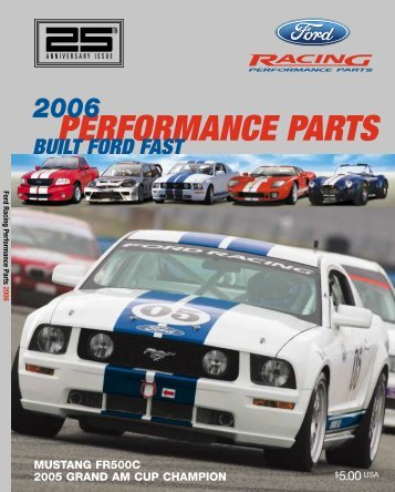 2006 Ford Racing Performance Parts Catalog