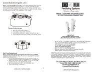 Flo hp retrofit coupling instructions - EZ FLO