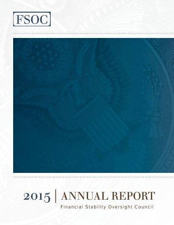 2015 FSOC Annual Report