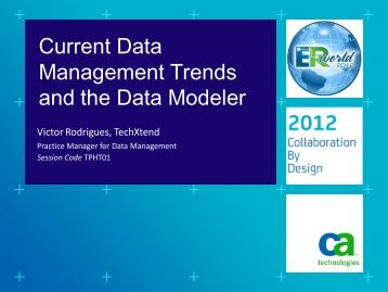 Presentation Download Available - Click Here - CA ERwin
