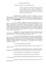 GABINETE DO MINISTRO PORTARIA Nº 30, DE 31 DE ... - Aneel