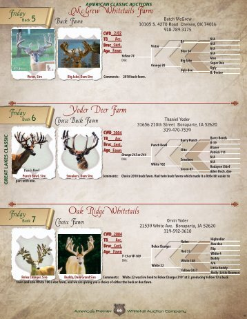 Page 66 to 78 - Whitetail Deer Farmer