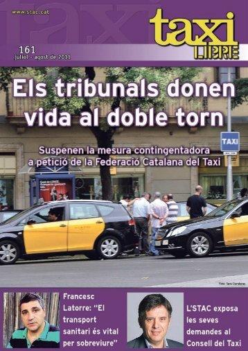 L'STAC exposa les seves demandes al Consell del Taxi