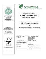 PT. Erna Djuliawati - Rainforest Alliance