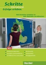 Schritte international Whiteboard - Hueber.cz