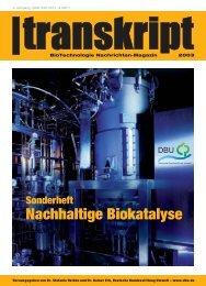 Nachhaltige Biokatalyse - ATB