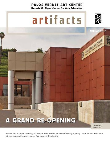 A GrAnd re-OpeninG - Palos Verdes Art Center