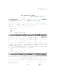 Declaraţii de avere şi interese 2013 - Partea 1