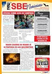 SBE - Sociedade Brasileira de Espeleologia