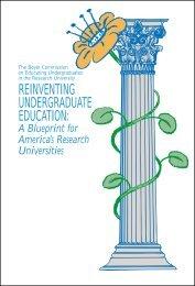Reinventing Undergraduate Education - Northern Illinois University