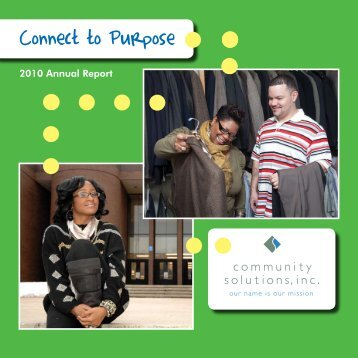 Connect to Purpose - Community Solutions Inc.