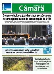 Governo decide aguardar cinco sessões para votar segundo turno ...