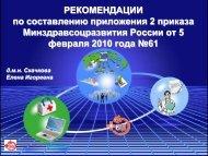 Е.И. Скачкова - Рекомендации по составлению приложения 2 ...