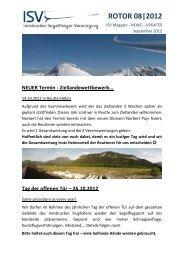 ROTOR 08|2012 - Innsbrucker Segelflieger Vereinigung