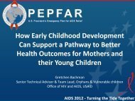 How Early Childhood Development Can Support a Pathway to ...